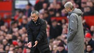 Mourinho Kembali SIndir Arsene Wenger
