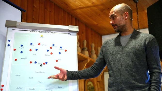 Guardiola Selalu Dipusingkan Dalam Pemilihan Starter