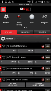 12bet Mobile Android